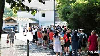 Andrang vor Freibädern im Landkreis Kassel an heißem Wochenende - hna.de