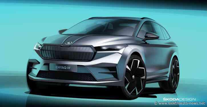 Skoda macht mit Elektro-SUV Enyak auch beim Design den nächsten Schritt