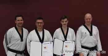 Nuic und Zekic meistern Schwarzgurtprüfung im Taekwondo - Schwäbische