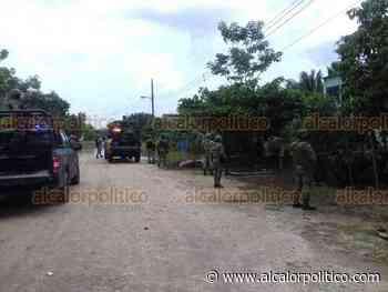 Casas inundadas por desbordamiento de río, en Jesús Carranza - alcalorpolitico
