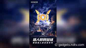 Honor Hunter Gaming Laptop Series Logo Revealed, Teased to Be Coming Soon