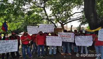 Trabajadores cesantes de PDVSA Gas Comunal protestaron en Araure por el reenganche - El Pitazo