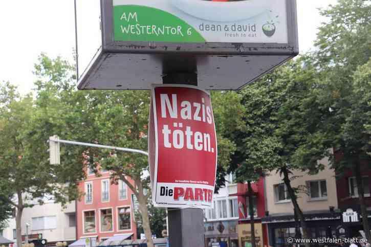 Paderborn: Wahlplakate bleiben hängen