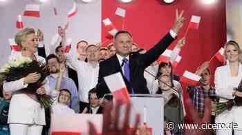 Präsidentschaftswahlen in Polen - Pyrrhussieg für Andrzej Duda - Cicero Online