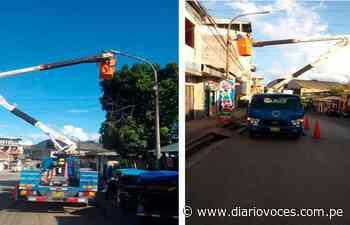 Modernizan Alumbrado Público en Yurimaguas - Diario Voces