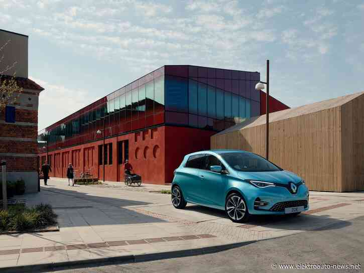 Renault ZOE neuer Verkaufsrekord in Deutschland im Juli 2020