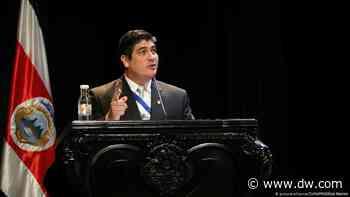 Presidente de Costa Rica firma ley contra acoso sexual callejero - DW (Español)