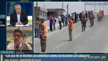 Salinas: Inmovilización domingo no tendrá impacto y nos pone en riesgo de mayor contagio - Canal N