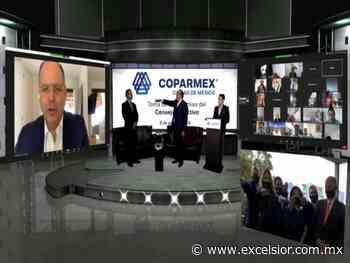 Armando Zúñiga Salinas rindió protesta como nuevo presidente de COPARMEX CDMX - Excélsior