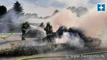 Misthaufen In Edewecht Brennt: So ein Mist: Feuerwehr muss löschen - Nordwest-Zeitung