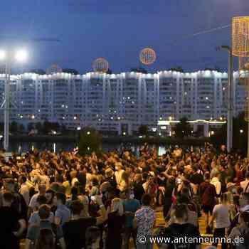 Neue Proteste in Belarus – Untersuchung nach Todesfall - Antenne Unna