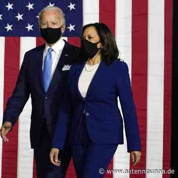 Biden und Harris greifen Trump als Team an - Antenne Unna