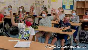 So lief in Werl der erste Schultag am Marien-Gymnasium mit Maske ab - soester-anzeiger.de