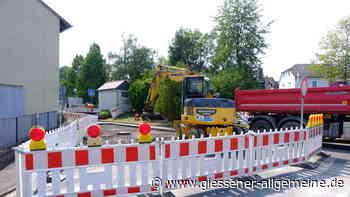 Kanalrohr in Hungen eingestürzt - Gießener Allgemeine