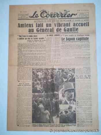 Il y a 75 ans, de Gaulle était de passage à Amiens - Courrier picard
