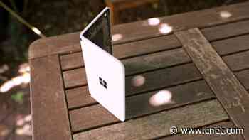 """Surface Duo """"hands-on"""", Uber may need to shutdown in CA temporarily video     - CNET"""