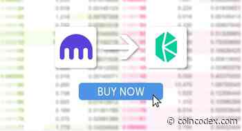 How to buy Kyber Network (KNC) on Kraken?   CoinCodex - coincodex.com