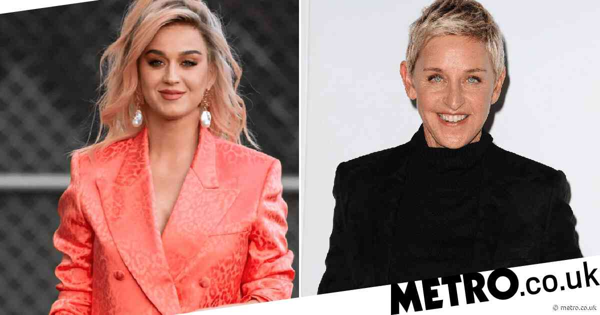 Katy Perry defends her support for Ellen DeGeneres amid 'toxic' workplace claims: 'Not everyone is going to agree'