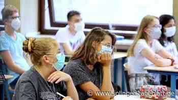 Schüler arrangieren sich mit Masken -So liefen die ersten Tage