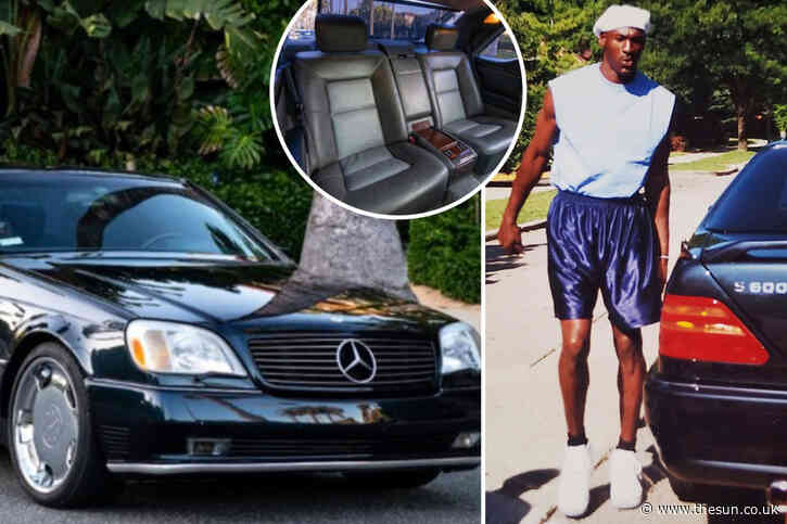Michael Jordan's iconic Mercedes Benz he drove in Netflix show The Last Dance for sale on eBay for £76k