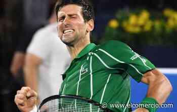 El serbio Novak Djokovic confirmó su participación en el US Open del 2020