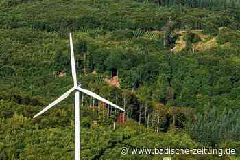 Drei Windräder sollen am Schnürbuck zwischen Ettenheim und Kippenheim entstehen - Ettenheim - Badische Zeitung