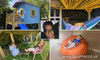 Children's playhouse listed on Airbnb booked by family of four for £500 a night