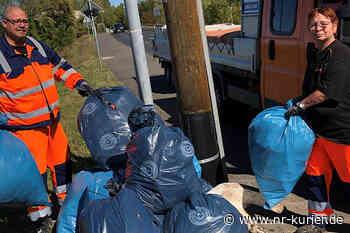 Neuwied räumt beim World Cleanup Day auf - NR-Kurier - Internetzeitung für den Kreis Neuwied