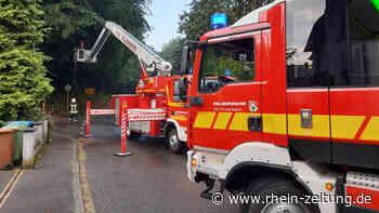 Feuerwehr der VG Puderbach unterstützt Rettungsdienst und beseitigt Unwetterschäden - Rhein-Zeitung
