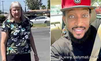White woman 'calls black man the n-word' over parking spot