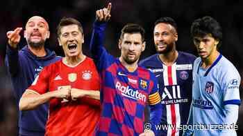 Von Lewandowski über Messi bis Neymar: Das sind die Superstars beim Champions-League-Turnier - Sportbuzzer