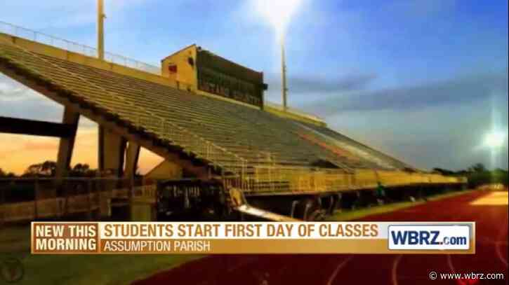Assumption Schools eagerly welcome students, virtually and in-person, to first day of classes