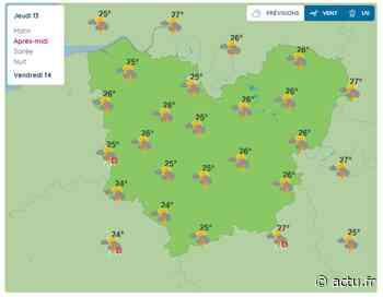 La météo de ce jeudi 13 août 2020 à Pont-Audemer - L'Eveil de Pont-Audemer