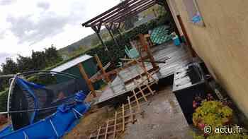 Près de Pont-Audemer, de violents orages ont provoqué d'importants dégâts mardi 11 août - actu.fr