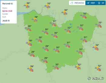 La météo de ce mercredi 12 août à Pont-Audemer - L'Eveil de Pont-Audemer