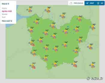 La météo de ce mardi 11 août à Pont-Audemer - L'Eveil de Pont-Audemer