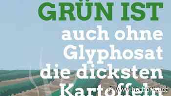Die dicksten Kartoffeln ohne Glyphosat?: Warum ein Wahlplakat der Grünen zum Mega-Aufreger wird