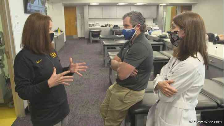 LSU's medical team reveals new measures taken to ensure health/safety of football players