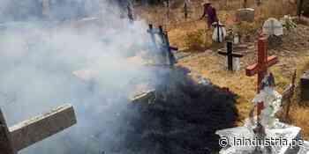 Queman en cementerio de Santiago de Chuco donde yacen restos de padres de César Vallejo - La Industria.pe