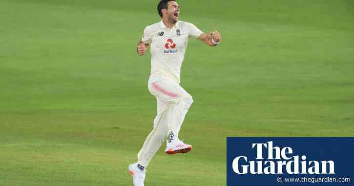 Jimmy Anderson helps England atone for early mistakes on truncated day