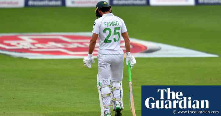 Fawad Alam's Pakistan comeback was ugly but earned after decade of graft   Andy Bull