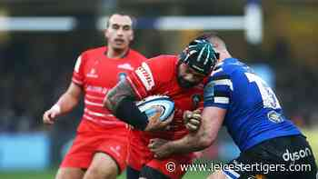 Change colours for the trip to Exeter - Leicester Tigers