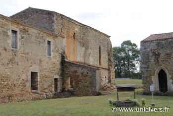 Abbaye de Trizay (85) ABBAYE SAINTE MARIE DU GUE DE TRIZAY samedi 19 septembre 2020 - Unidivers