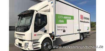 DB Schenker erhält neuen Elektro-Lkw für City-Verteilerzentrum in Oslo - VerkehrsRundschau