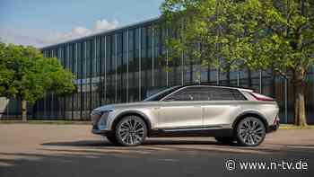 Gegen die Luxus-Stromer:Cadillac plant edles Elektro-SUV - n-tv NACHRICHTEN