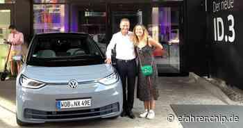 VW-Chef macht Urlaub mit dem neuen Elektro-VW ID.3: User äußern Kritik - EFAHRER.com