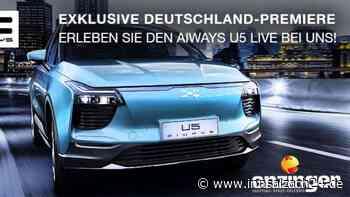 "Der neue Elektro-SUV ""Aiways U5"" rollt nach Neuötting - innsalzach24.de"