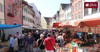Wochenmarkt in Wangen: Appelle der Stadt laufen ins Leere - Schwäbische