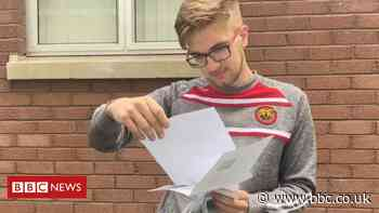 A-levels: Over a third of NI grades lower than predicted by teachers