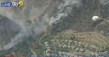 Ranch Fire Threatens Homes In Azusa